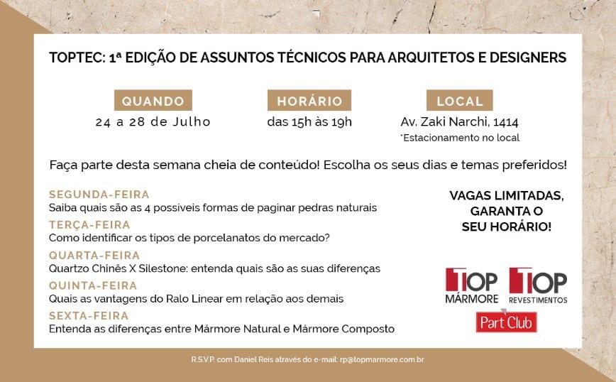 Convite Toptec