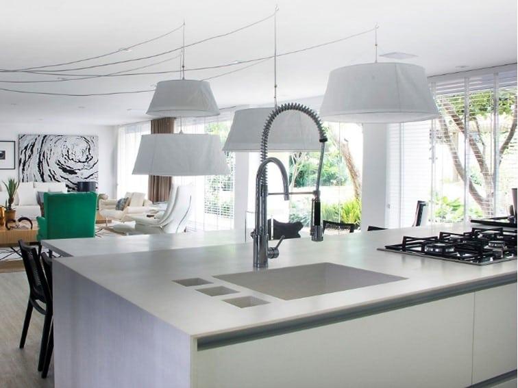Lavatório de cozinha Corian