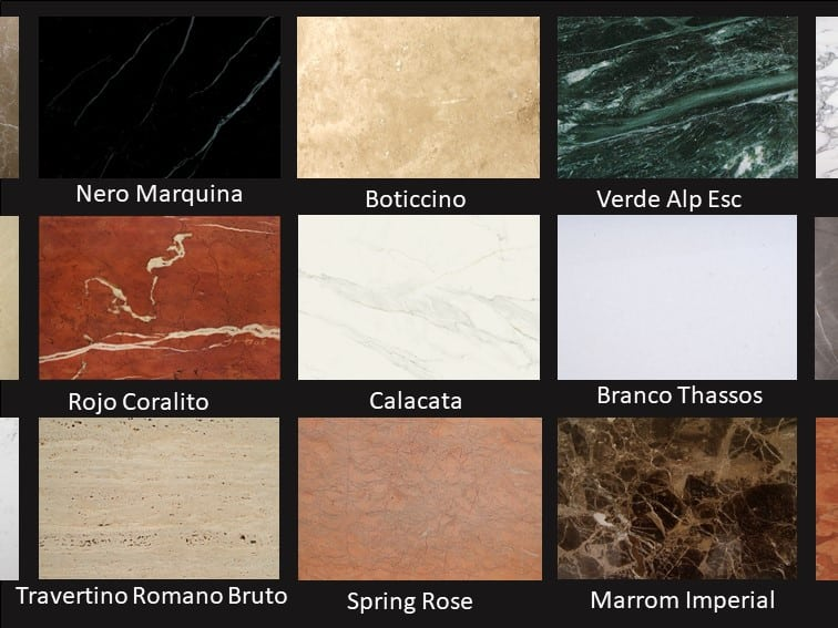 M rmore x granito entenda suas diferen as top m rmore for Tipos de granito para pisos