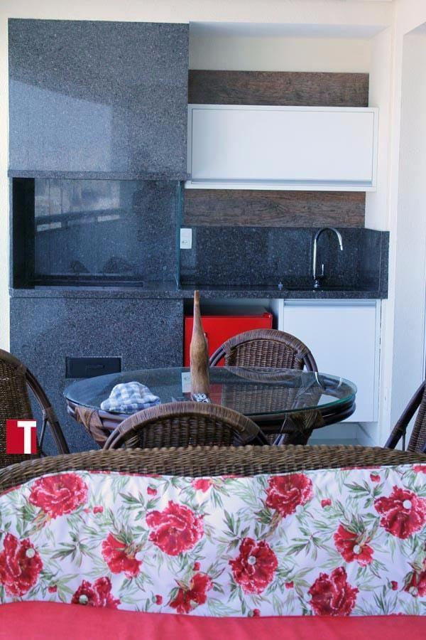 Churrasqueira em Granito Café Imperial