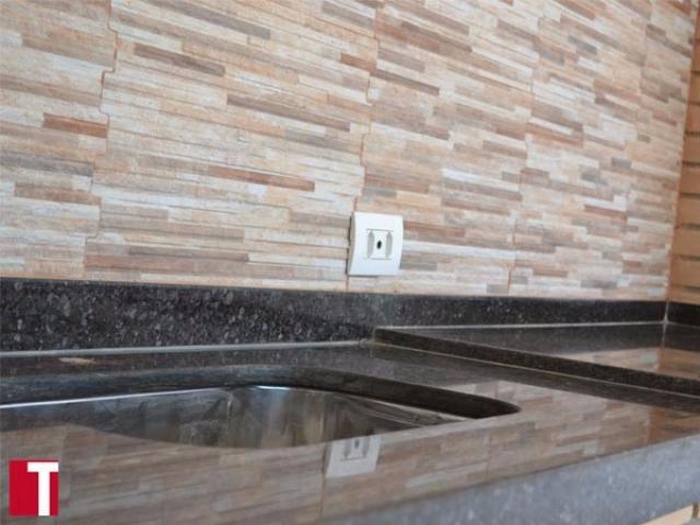 Pia de Churrasqueira em Granito Café Imperia