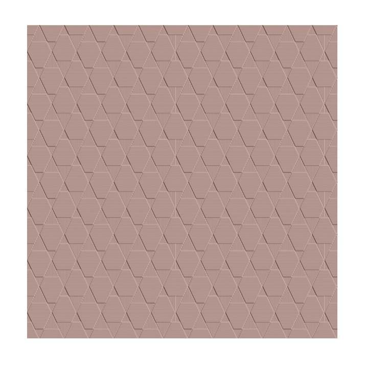Porcelanato Ceusa canelado rosa 43,2x91cm