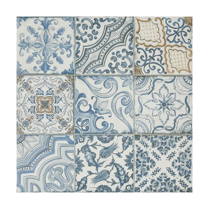 Porcelanato Decortiles blue memory 60x60cm
