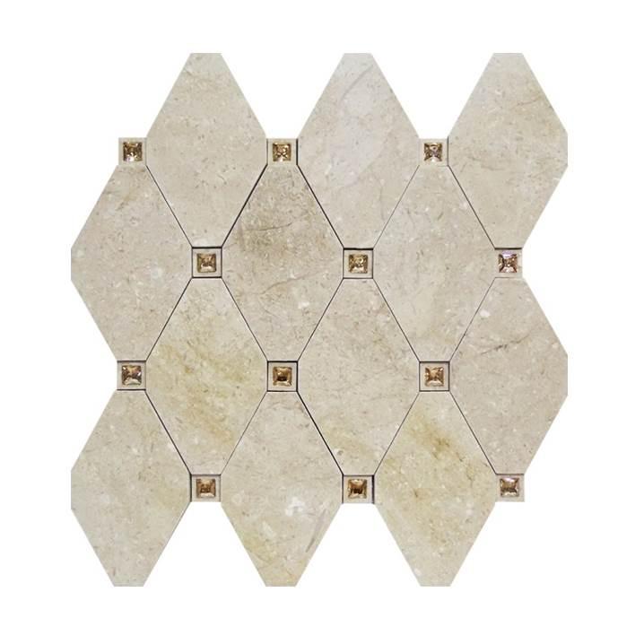 Mosaico-Tessela-Crema-Marfil-Polido-com-cristais