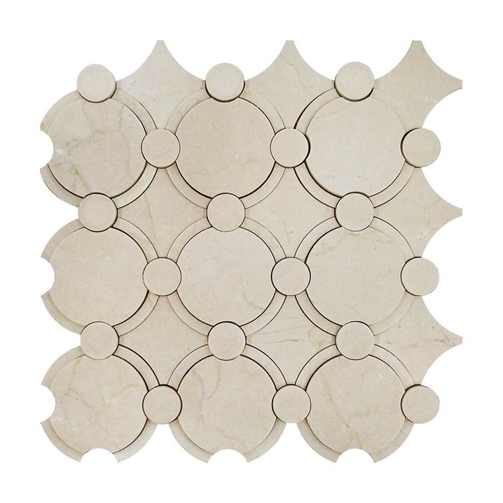 Mosaico-Tessela-Crema-Marfil-Polido