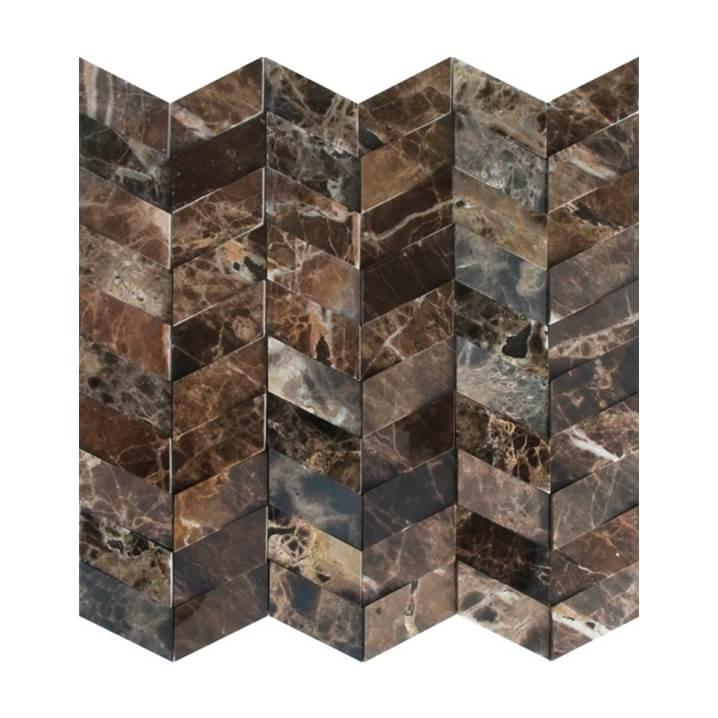 Mosaico-Tessela-Marrom-Imperador