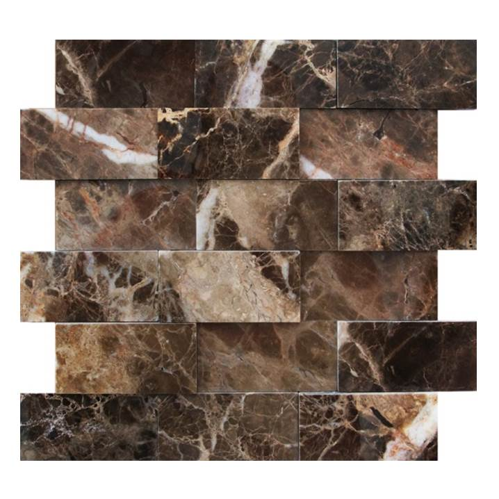 Mosaico-Tessela-Retângulos-Marrom-Imperador-polido