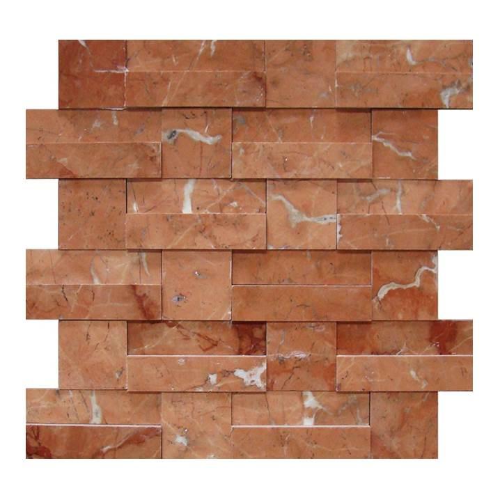 Mosaico-Tessela-Rosso-Verona-Polido