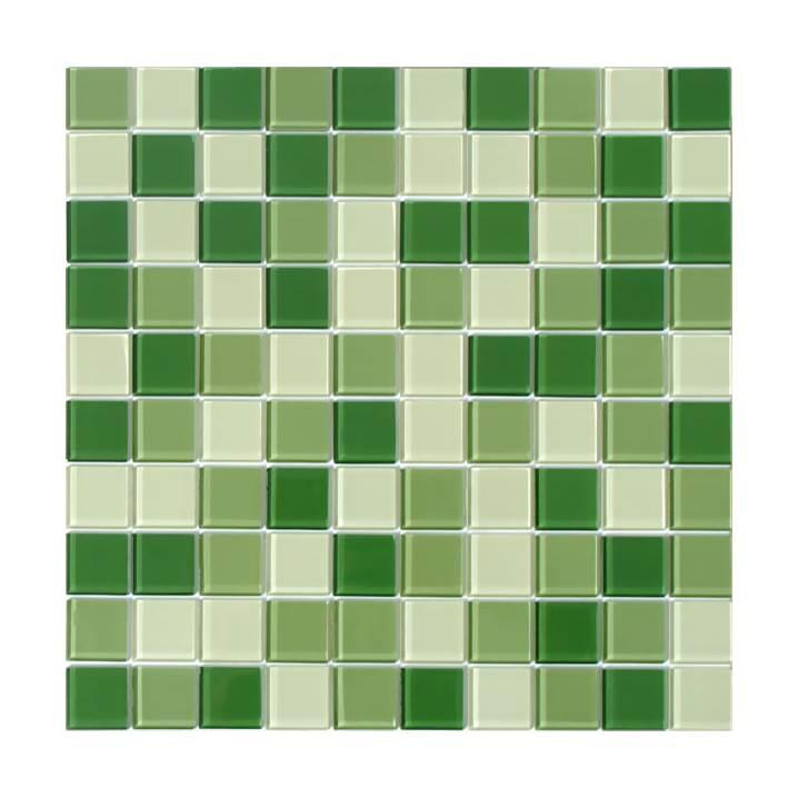Pastilha-de-vidro- miscelânia-verde-Glass-Line