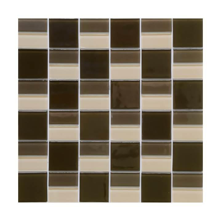 Pastilha-de-vidro- multiforma-marrom-Glass-Line